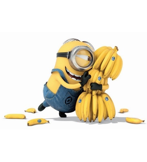 buy stybuzz banana love minions poster online comics cartoon
