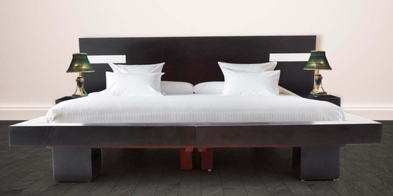 Buy Sturdy Queen Size Bed And Two Side Tables By Looking Good