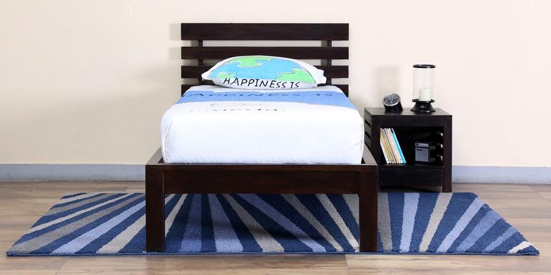 Stigen Solidwood Single Bed in Warm Chestnut Finish by Woodsworth