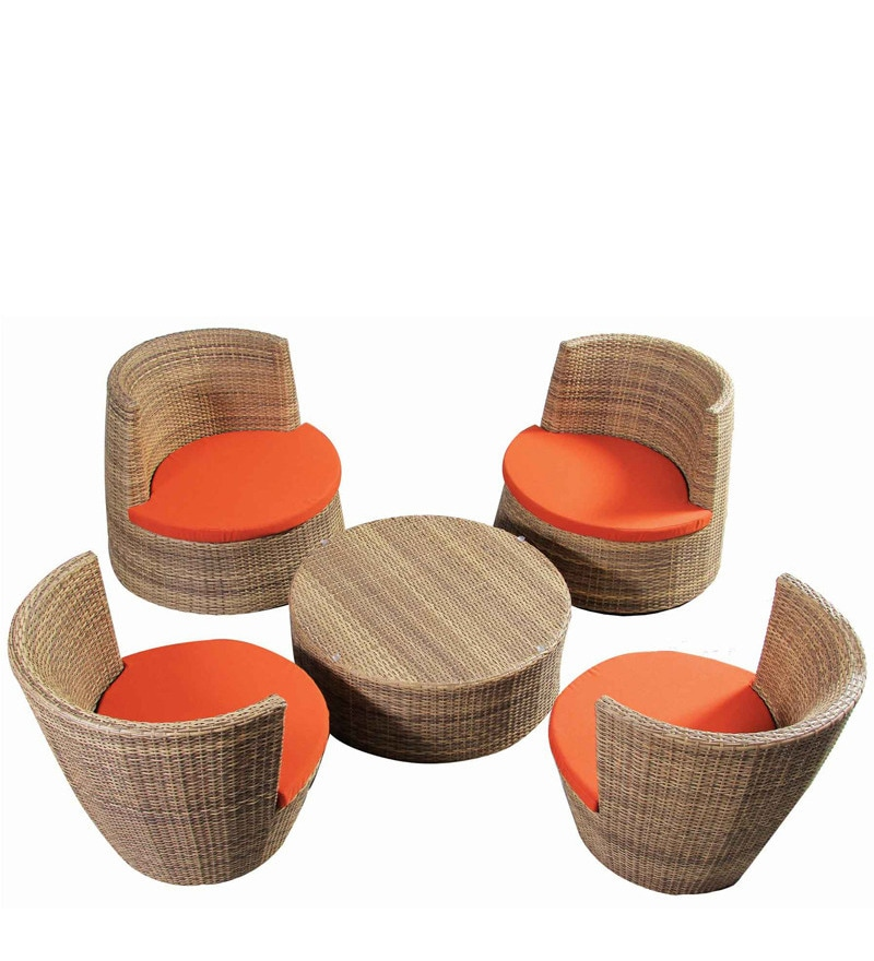 Stackable Outdoor Set (1CT + 4C) by Alcanes