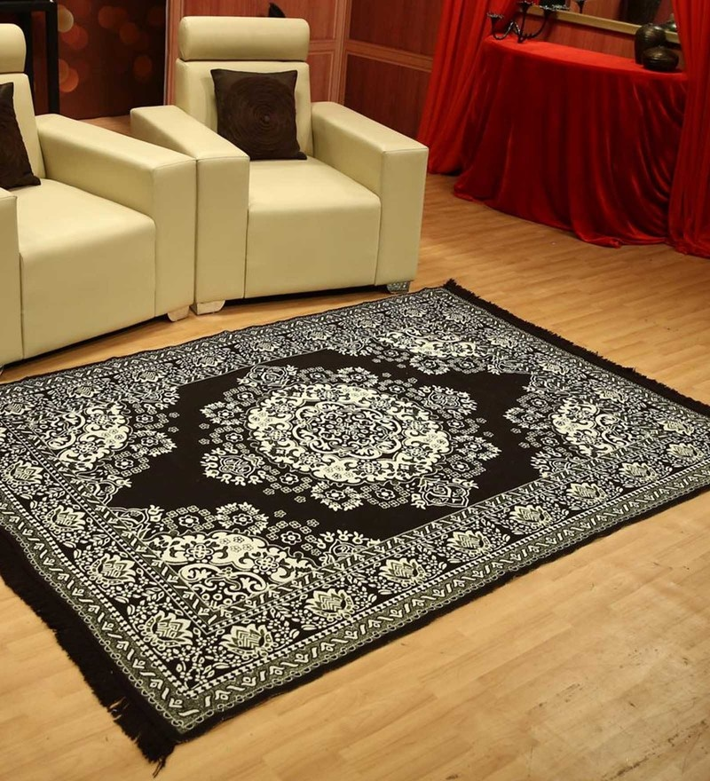 Status Brown Cotton 54 x 84 Inche Carpet