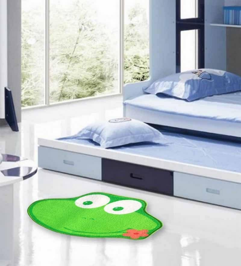 Kids Floor Mat Green by Status