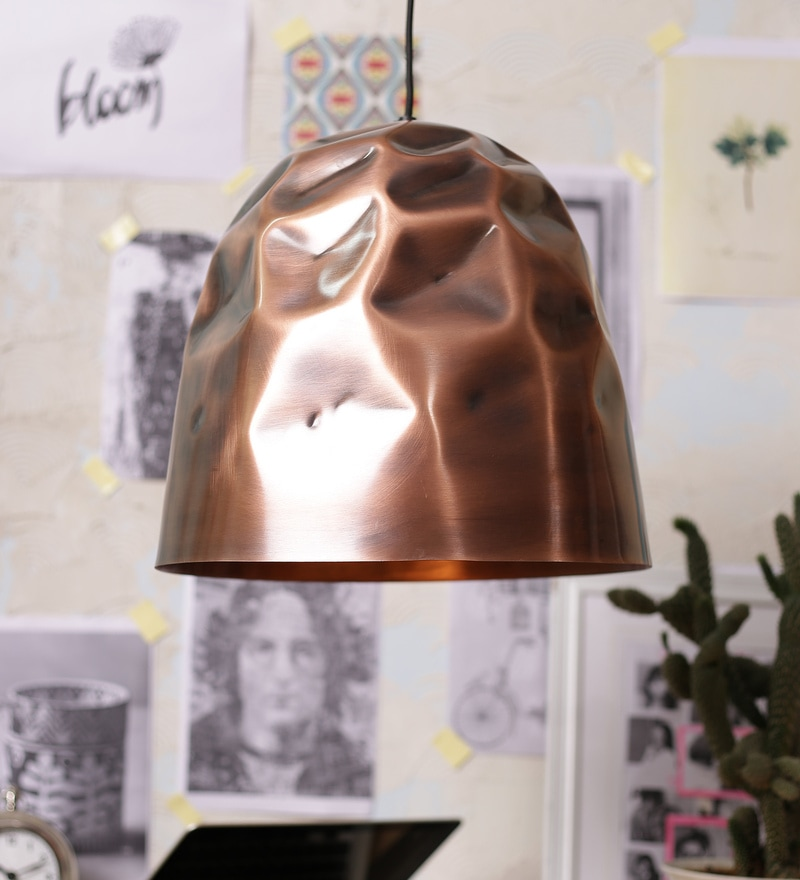 Copper Metal Pendant by Stello