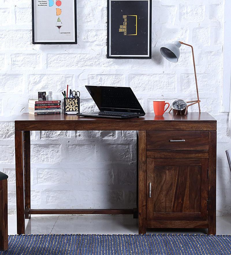 Stigen Study & Laptop Table in Provincial Teak Finish by Woodsworth