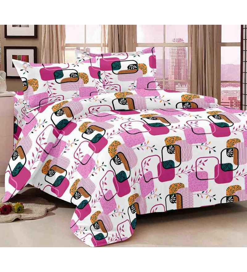 Story Home Magic 100 Cotton Double Bed Sheet By Story