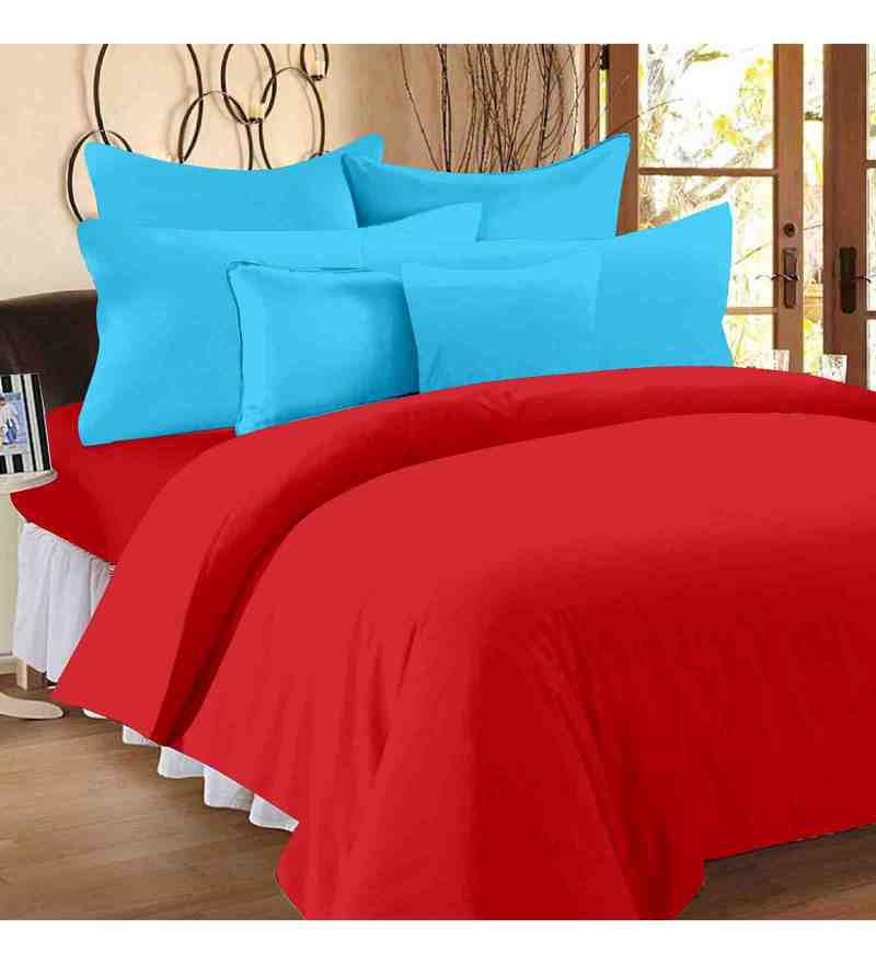 Ruby 100% Cotton 88 x 100Inch Fashion Bed Sheet Set by Story@Home