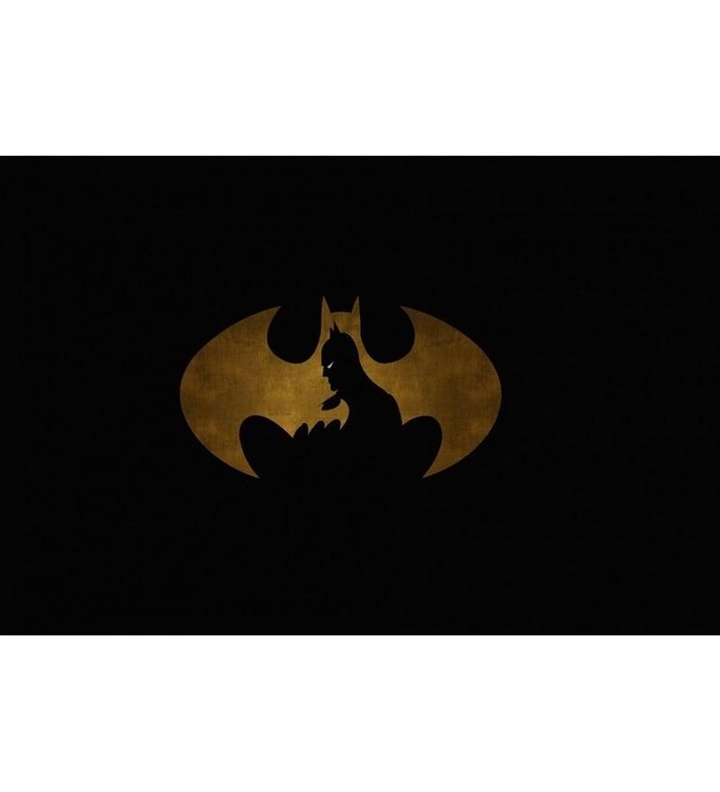 Buy Stybuzz Batman Logo Poster Online Comics And Cartoon Posters