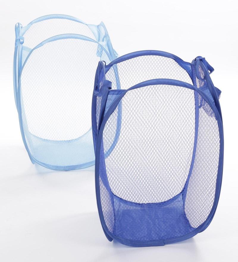 Stybuzz Nylon Foldable Laundry Bag - Set Of 2