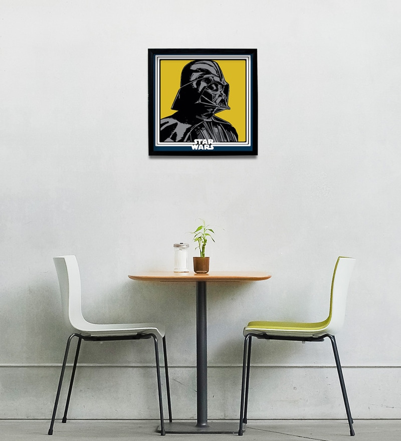 Buy Stybuzz Star Wars Pop Art Synthetic Wood and Acrylic 11 x 1 x 11 ...