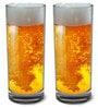 Stallion Barware Unbreakable High Ball Beer Glass - 300 ML - Pack of 2