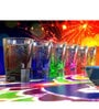 Stallion Barware Unbreakable Six color Diwali collection Rush 65 ML Shots Glass - Set of 6