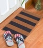 Status Brown Polypropylene 23 x 15 Inch Gypsy Door Mat