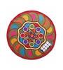 Multicolour Nylon 27 x 27 Inch Door Mat by Status