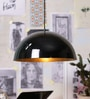 Black Metal Pendant by Stello