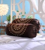 Brown Velvet 16 x 30 Inch Bolster Covers - Set of 2 by Stybuzz