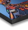 Hashtag Decor Stylized Photo Canal Night View Engineered Wood Art Panel