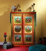 Adhisthan Hand Painted Cabinet