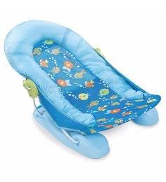 Summer Infant Large Baby Bather -Bubble Fish Plastic Bathtub