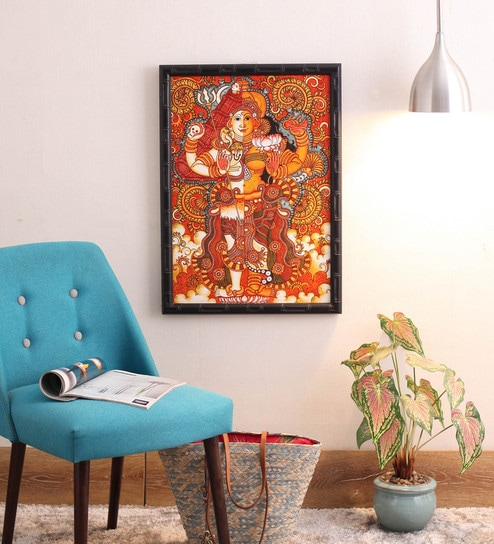 Buy Sublime Galleria Canvas 27 X 1 X 19 5 Inch Kerala Mural Framed