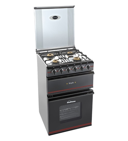 Buy Sunflame Regalia 4 Burner Auto Ignition Top With Oven