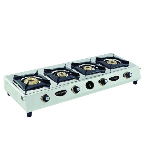 6b3cc3acc154ef Buy Sunshine Ct-900 4-burner Gas Stove Online - Gas Stoves - Gas ...