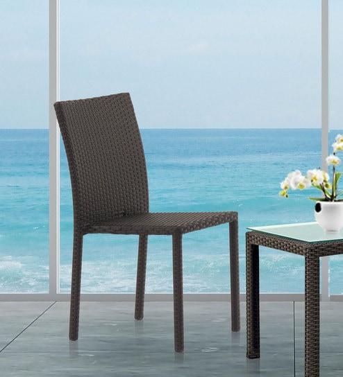 Charmant Sunshine Outdoor Chair In Brown Color By Studio F