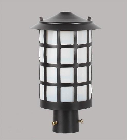 Black Mild Steel Outdoor Lighting By Superscape