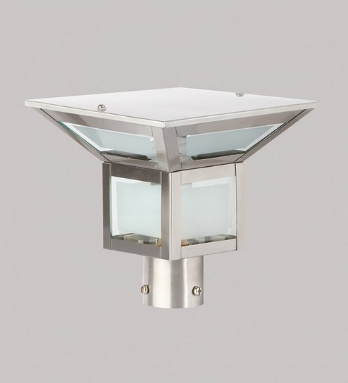 Silver Stainless Steel Outdoor Lighting by Superscape Outdoor Lighting & Buy Silver Stainless Steel Outdoor Lighting by Superscape Outdoor ...