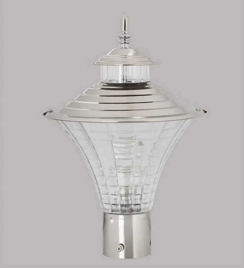 Silver Stainless Steel Outdoor Lighting By Superscape