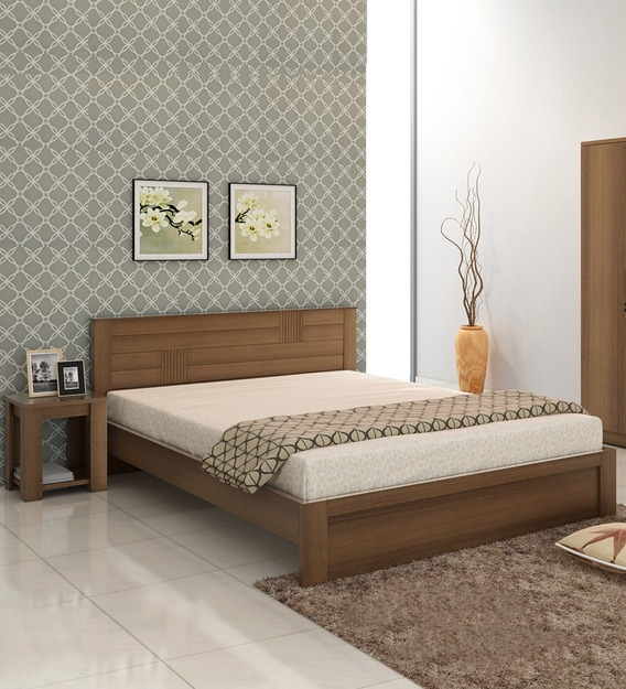 Subaru Queen Size Bed With Bedside, Queen Bed And Bedside Tables