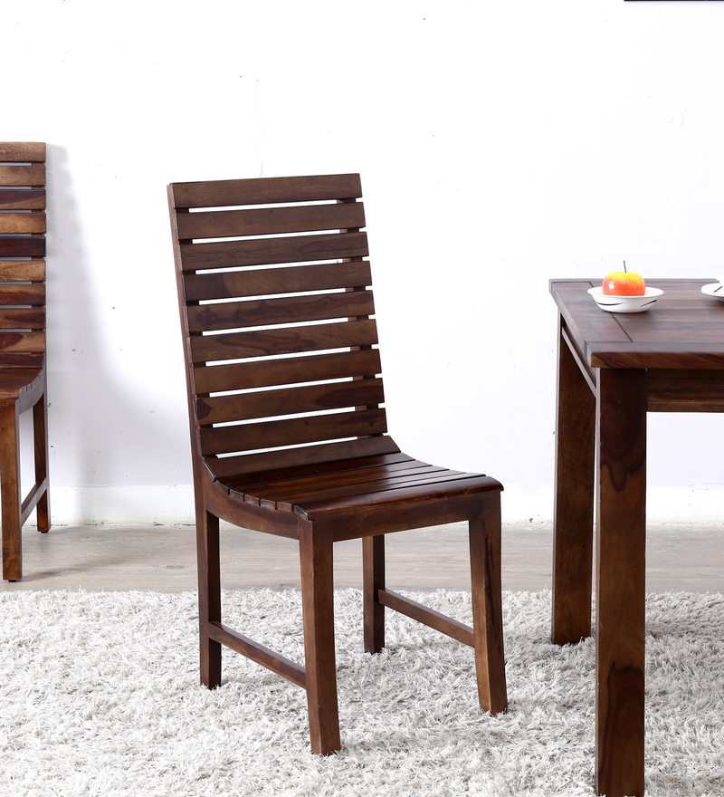 Buy Amarillo Dining Chair In Honey Oak Finish By