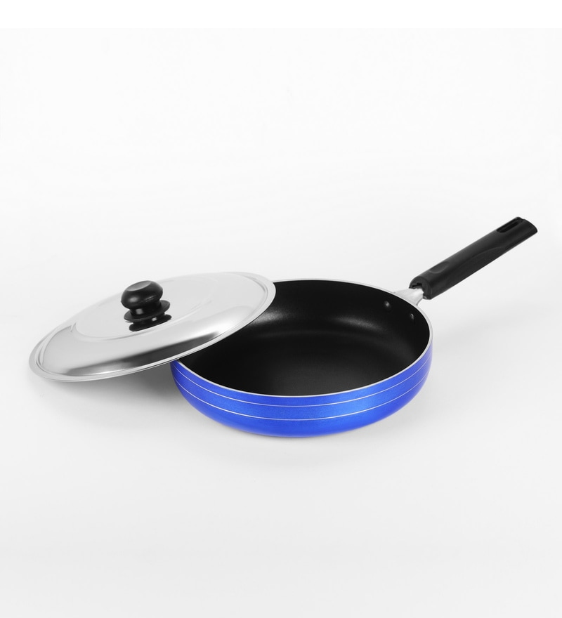 Sumeet 2.6 mm Nonstick Induction Base Aluminium 2 L Fry Pan with Lid