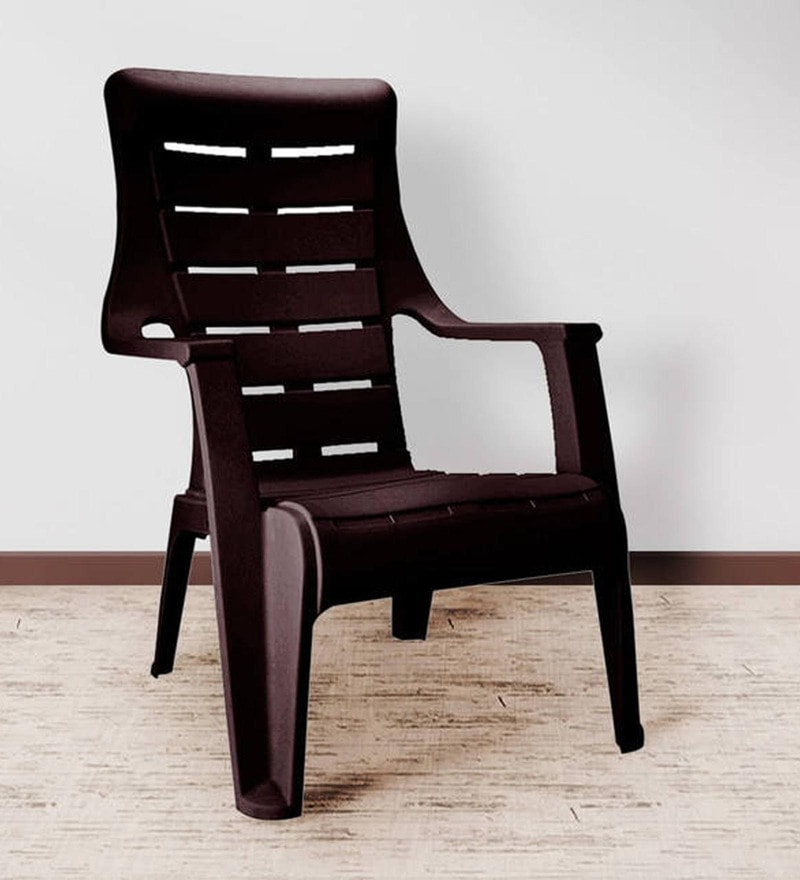 Strange Sunday Chair In Brown Colour By Nilkamal Cjindustries Chair Design For Home Cjindustriesco