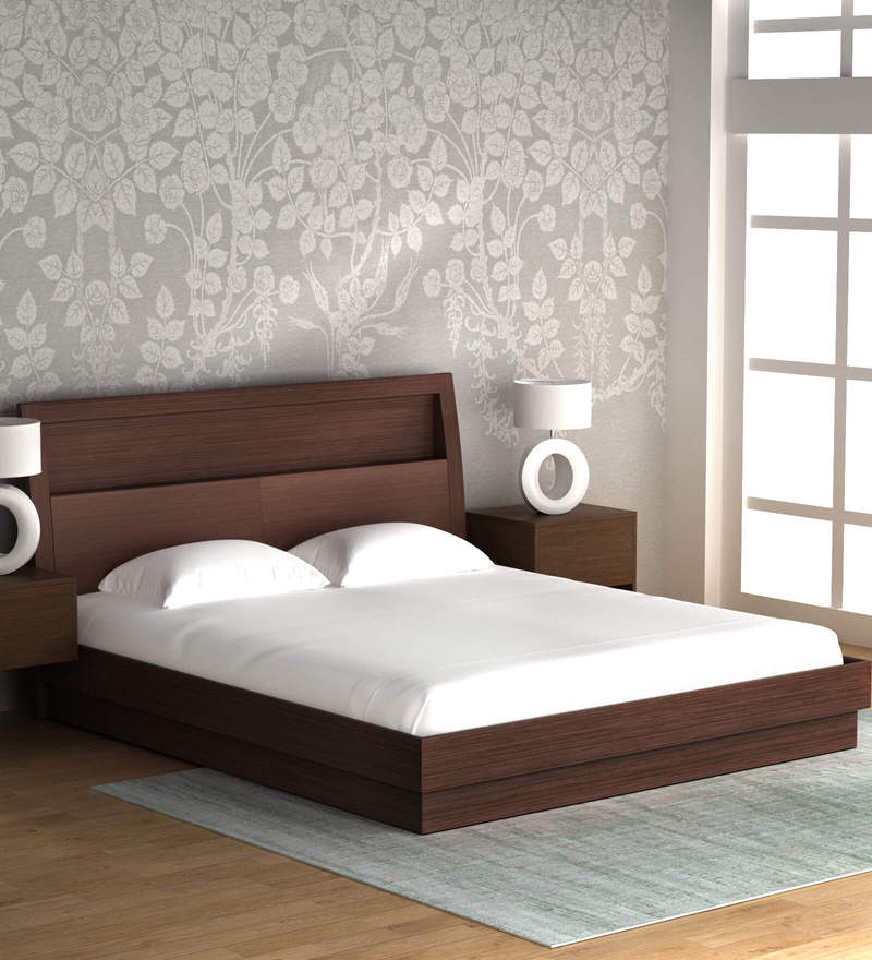 Buy Super Magna King Size Bed With Hydraulic Storage In