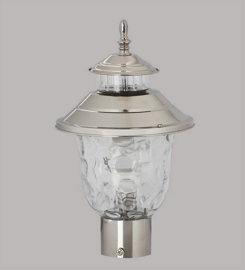 Chrome Stainless Steel Outdoor Lighting by Superscape Outdoor Lighting