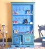 Nilaka Hand Painted Book Shelf Cum Display Unit by Mudramark