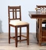 Sumas Bar Chair in Provincial Teak Finish by Woodsworth