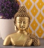 Copper Brass Buddha Idol by Suriti