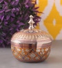 Suriti Multicolour Brass Marori Jewellery Box