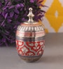 Suriti Multicolour Brass Marori Box