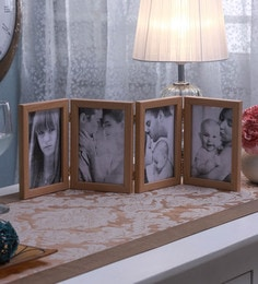 SViRU Beige Synthetic And Glass Collage Photo Frame - 1587901