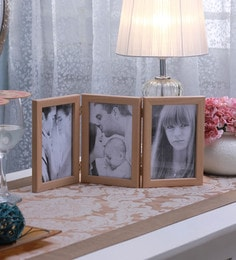 SViRU Beige Synthetic And Glass Collage Photo Frame - 1587895