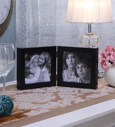 SViRU Black Synthetic And Glass Collage Photo Frame - 1587906