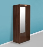 Swirl Dual Finish Double Door Wardrobe