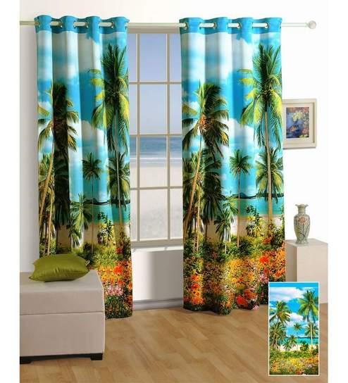 Exceptional Buy Swayam Digitally Printed Premium Beach Cosmo Fashion Window .
