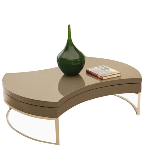 Ordinaire Swivel Coffee Table In Mocha Colour By Godrej Interio
