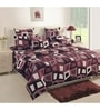 Black Cotton Bed sheet - Set of 2 by Swayam