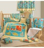 Engine Baby 7-Piece Crib Bedding Set by Swayam