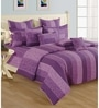 Swayam Magenta Cotton Bed sheet - Set of 2