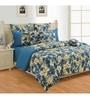 Swayam Purple Cotton Bed sheet - Set of 2